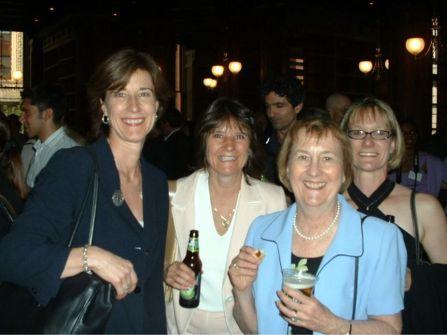 Beer drinking gals.