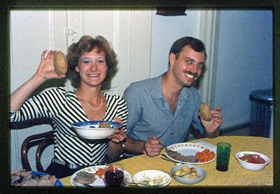 Kathy & Steve - 1983?