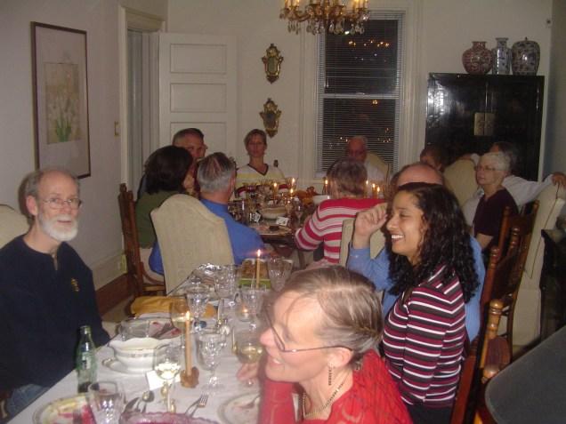 Thanksgiving Dinner at Glenda's, Weehawken, NJ