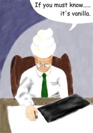 Frost E. Mann, business man obsessed with Princess Elaine. (Painter)