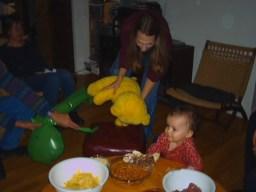 Martha, Spacebrother, Yellow Bear, Jane, Luna