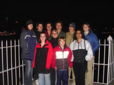 The gang at Hamilton Park - Thanksgiving 2004