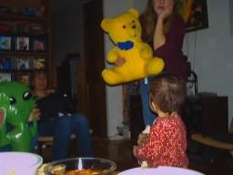 Spacebrother, Martha, Yellow Bear, Jane, Luna