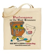 K&L Microwave IEEE MTT-S Tampa Bay 2014 Trade Show Bag
