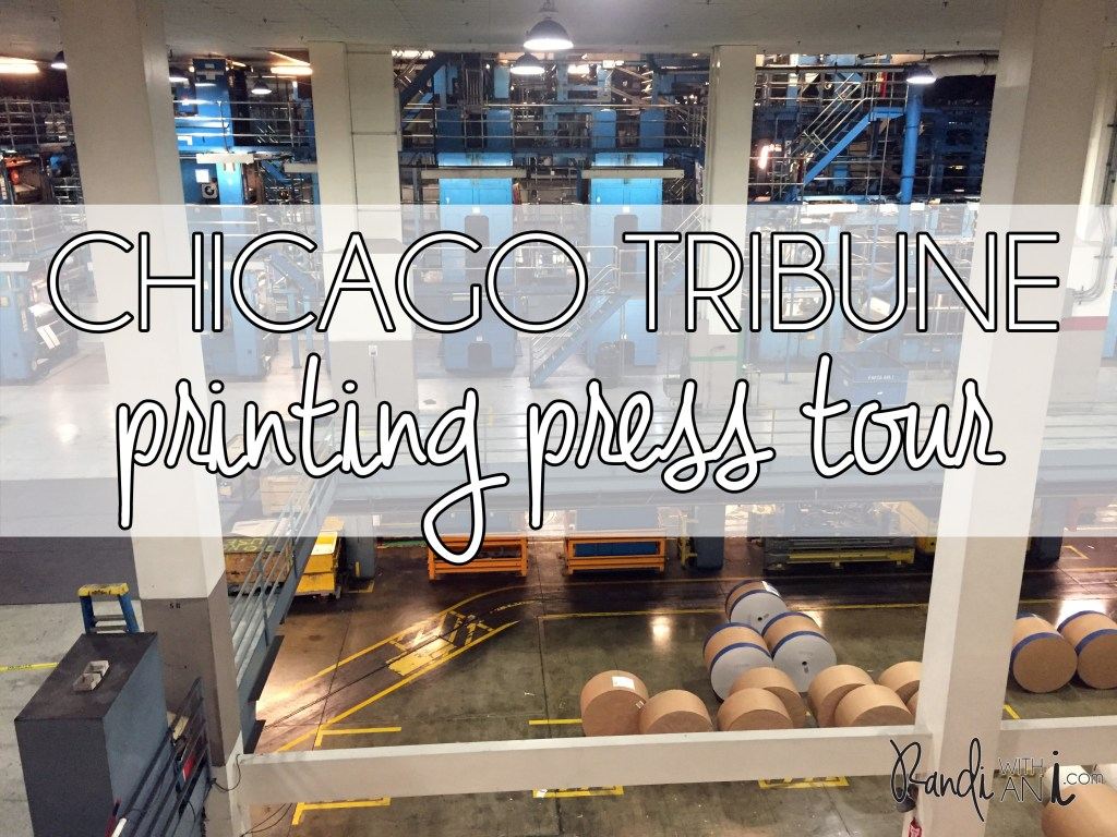 chicago tribune printing press tour