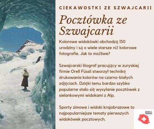 pocztówka ze Szwajcarii