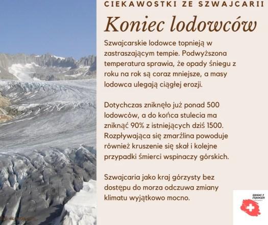 koniec lodowców