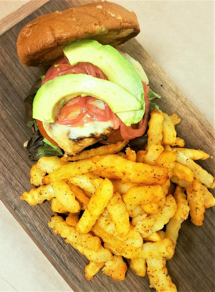 chicken, chicken sandwich, avocado, crab, crabs, r&l crab, r&l, r and l, steamed crabs, chicken breast, sandwich