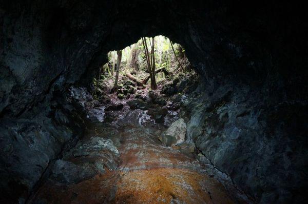 visites des tunnels de lave