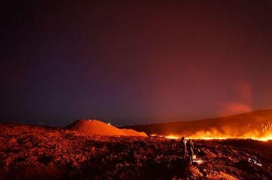 Eruption Piton de la Fouurnaise 15 septembre 2018 Tunnels de lave réunion ; Rando Volcan (1)
