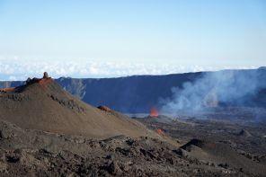 Eruption Piton de la Fouurnaise 15 septembre 2018 Tunnels de lave réunion ; Rando Volcan (6)