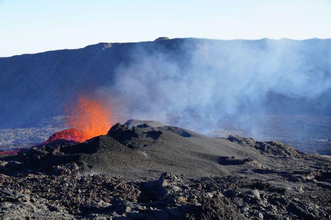 Eruption Piton de la Fouurnaise 15 septembre 2018 Tunnels de lave réunion ; Rando Volcan (7)