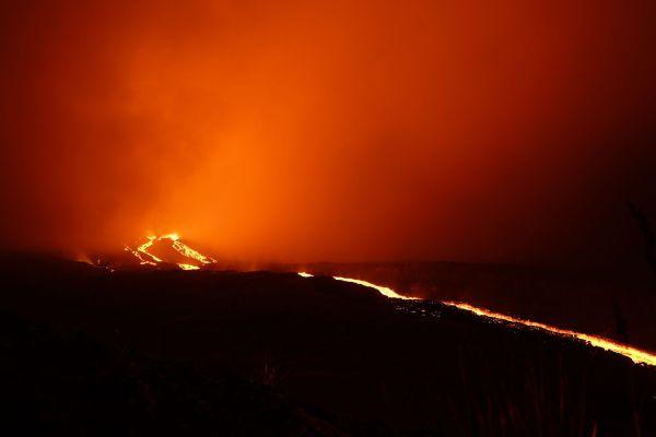 Coulées de lave Réunion