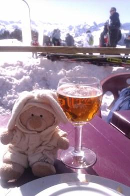 ..et une bonne bière...