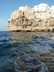 6-Polignano a mare falaises depuis grotte2 -