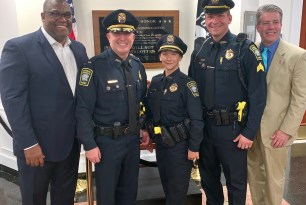 Randolph Police Department Announces Three Promotions