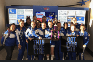 """Randolph/Holbrook Cheerleaders to Host """"Back the Blue"""" Rally This Weekend"""