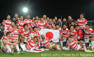 (C)2015JRFU,Photo by H.Nagaoka
