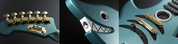 『ONE PIECE ブルック SHARK GUITAR』