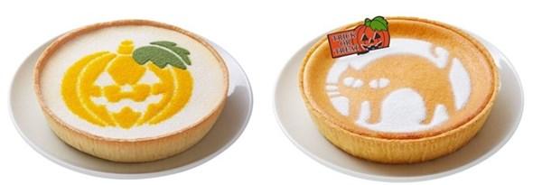 ハロウィーン レアチーズケーキ (ジャック オ ランターン)ハロウィーン デンマーククリームチーズケーキ(クローニャ)