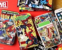 [iPhone 7専用]MARVELマーベル コミックブックケース