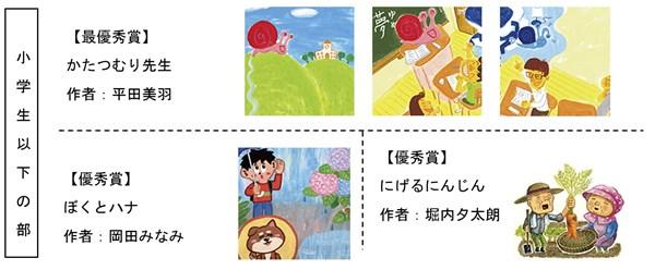 小学生以下の部 受賞作品