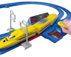 「プラレール レバーでダッシュ!! 超(スーパー)スピード ドクターイエローセット」