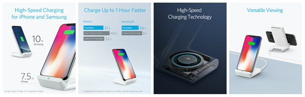 「Anker PowerWave 7.5 Stand ・ Pad」