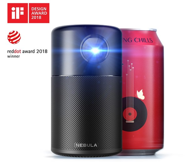 Android搭載モバイルプロジェクター「Anker Nebula Capsule」