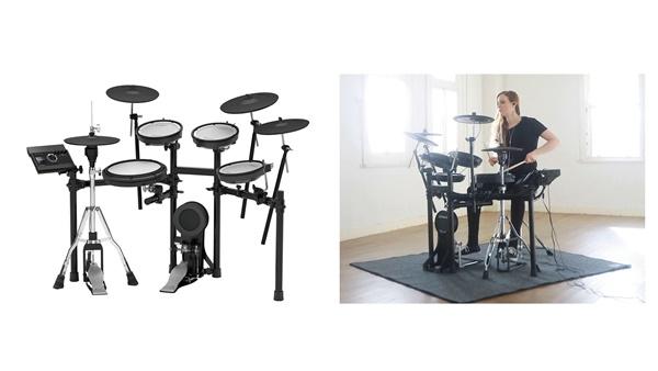 自宅練習に最適な「Vドラム」の最新モデル『TD-17』シリーズ