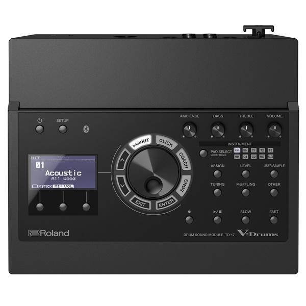 新しいドラム音源「TD-17」