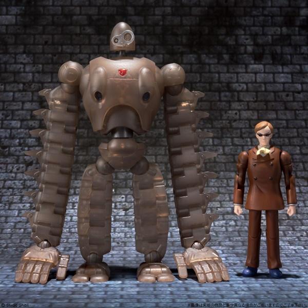 ムスカとロボット兵