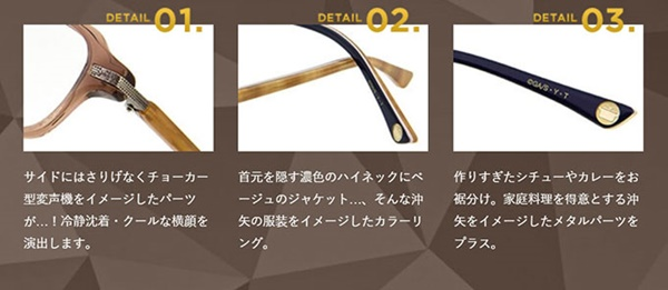 Zoff×名探偵コナン コラボコレクション プレミアムライン沖矢昴 モデル