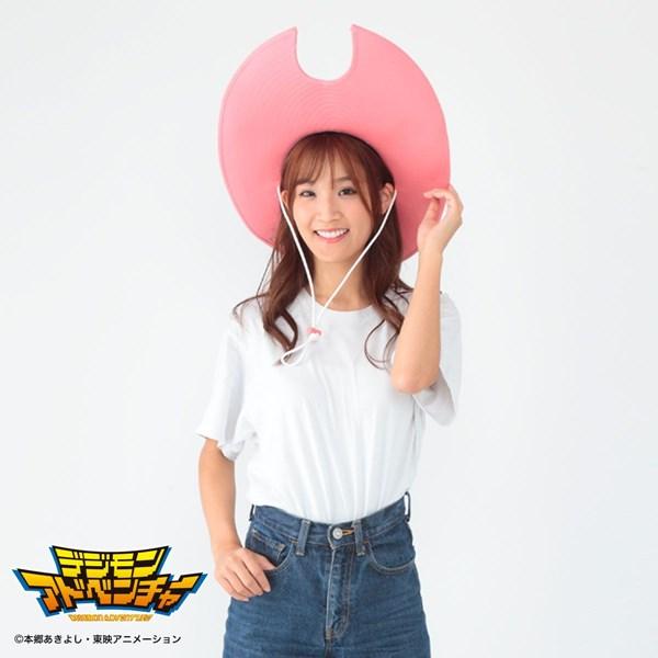『デジモンアドベンチャー メモリアルグッズ ミミの帽子』