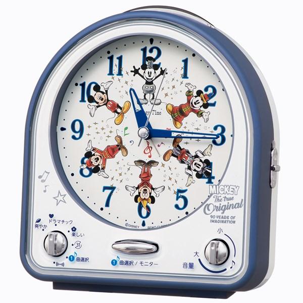 ミッキーマウス スクリーンデビュー90周年 記念の目ざまし時計