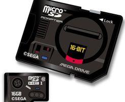 「SEGAハードコレクショングッズ第1弾 microSDHCカードセット」