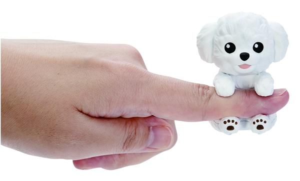世界最小級ペット玩具「ゆびわんこ」