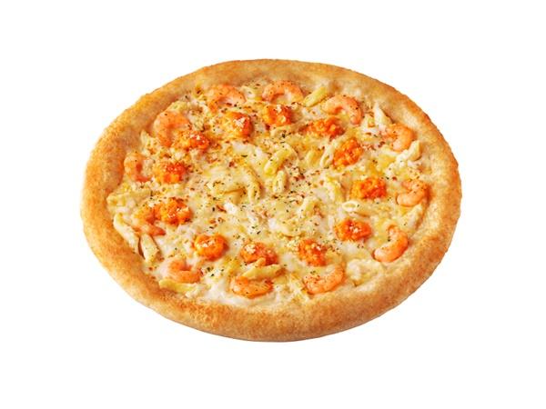 「えびぷりグラタンピザ」