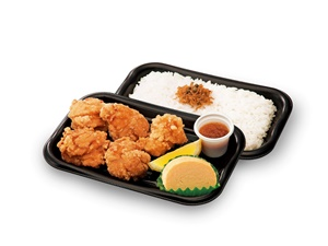 <若鶏の唐揚げ弁当>  498円(+税) → 249円(+税)