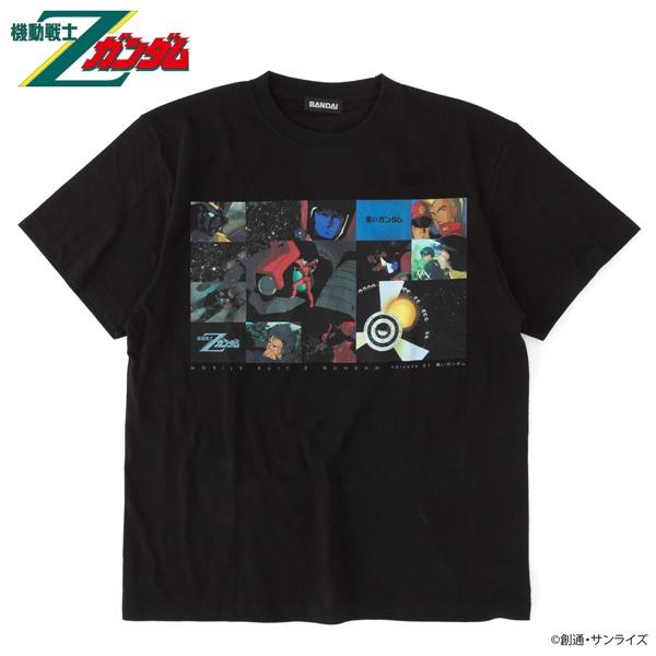 機動戦士Zガンダム エピソードTシャツ EP1 「黒いガンダム」