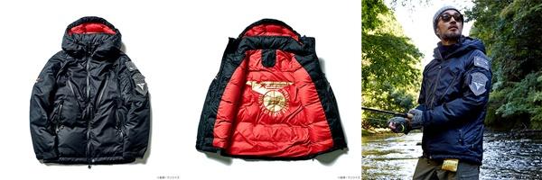 STRICT-G×NANGA ダウンジャケット『機動戦士Zガンダム』ティターンズモデル