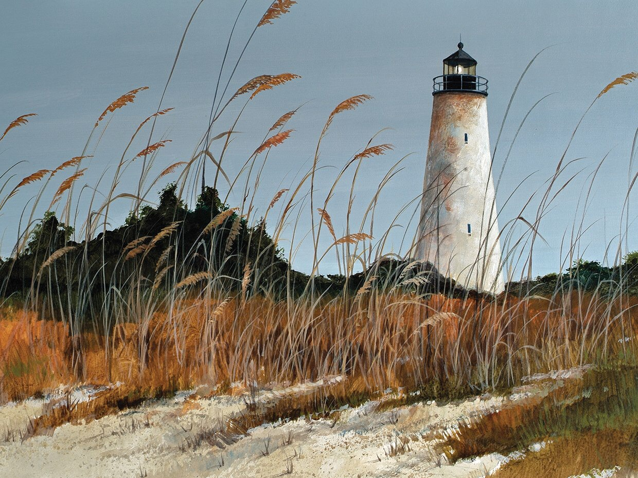 North Island Lighthouse: the oldest lighthouse in South Carolina ~