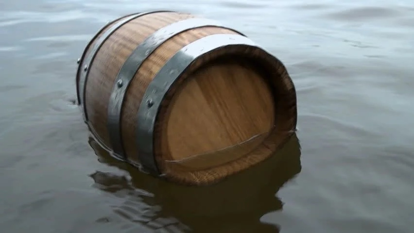 Buried in a Barrel: the story of Captain Sluman Gray~