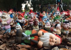 Gnomesville: an unusual roadside community of thousands of garden gnomes