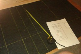 Drawing the box pleat