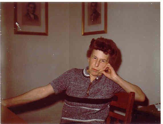 Fran Kretschmer, wife of GK:  June 13, 1915-Sept. 2, 2008