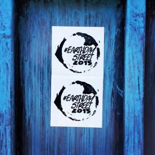 #EarthdayStreet2015 Stickers