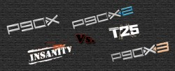 P90X vs. INsanity Vs. P90X2 vs. T25 vs. P90X3