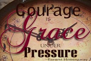 Grace under pressure button