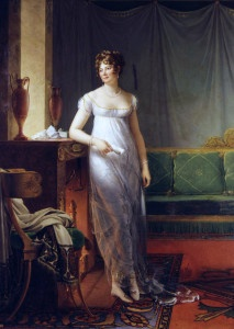 Catherine Worlée, Princesse de Talleyrand-Périgord (1762-1834)  *oil on canvas  *226 × 165 cm  *1804-1805